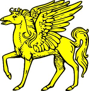 Flying horse clipart svg free download Winged Horse Clip Art at Clker.com - vector clip art online, royalty ... svg free download