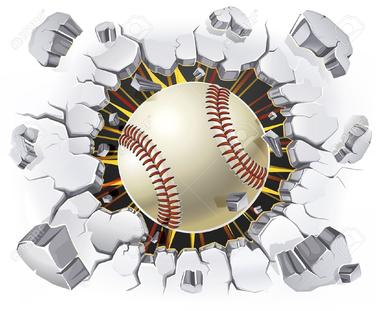 Flying softball clipart image black and white library Softball Cliparts Background - Cliparts Zone image black and white library