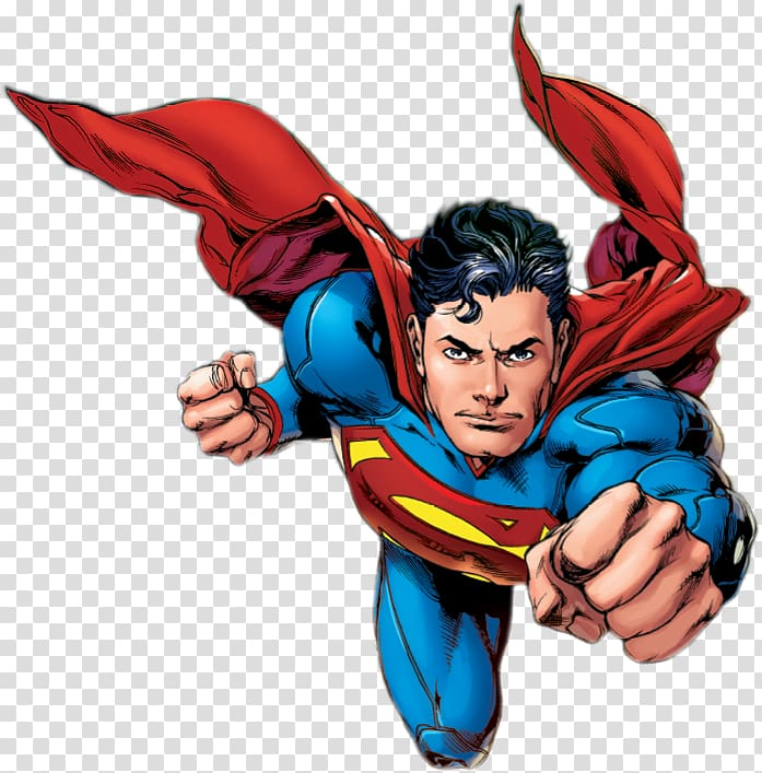 Flying superman clipart