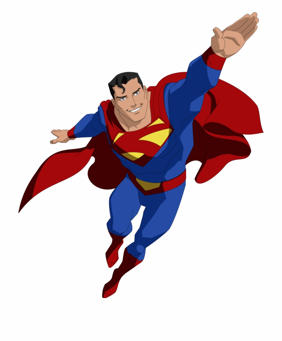 Png gif free images. Flying superman clipart
