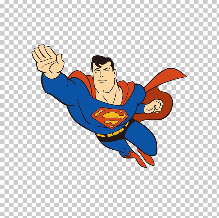 Flying superman clipart. Clark kent cartoon superhero