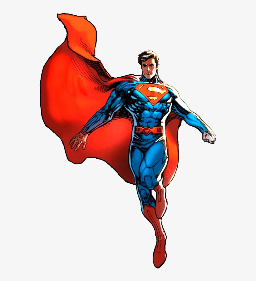 Flying superman clipart. At getdrawings transparent clip