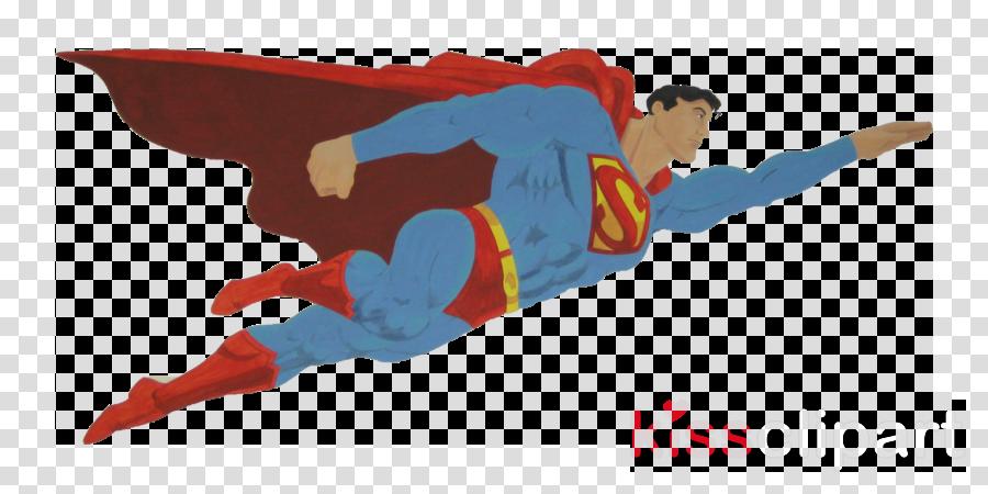 Batman superhero transparent png. Flying superman clipart