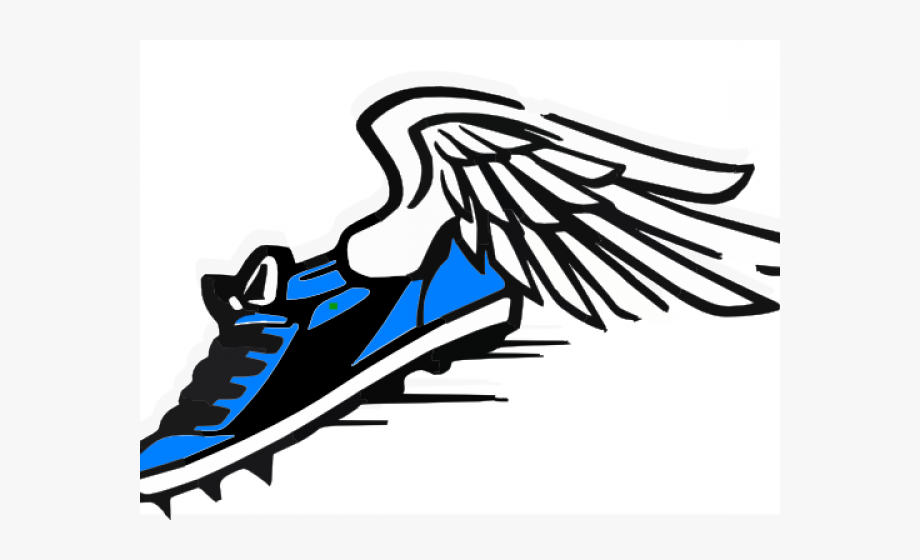Flying track shoe clipart 1500 x 1500 graphic free Gym Shoes Clipart Article Clothing - Clipart Track And Field Shoe ... graphic free