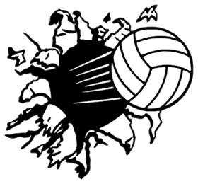 Flying volleyball clipart clipart transparent download Melanie\'s Crafting Spot: Exploding Volleyball | Silhouette ... clipart transparent download