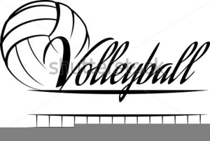 Flying volleyball clipart clip library library Flying Volleyball Clipart | Free Images at Clker.com - vector clip ... clip library library