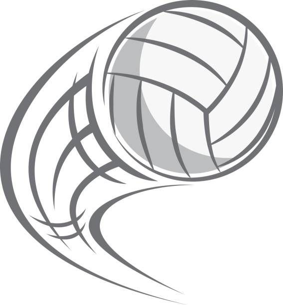 Flying volleyball clipart clipart black and white library Flying volleyball clipart 5 » Clipart Station clipart black and white library