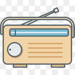 Fm radio clipart clip transparent library Cartoon Radio, FM, Radio, FM Radio PNG A #18218 - PNG Images - PNGio clip transparent library