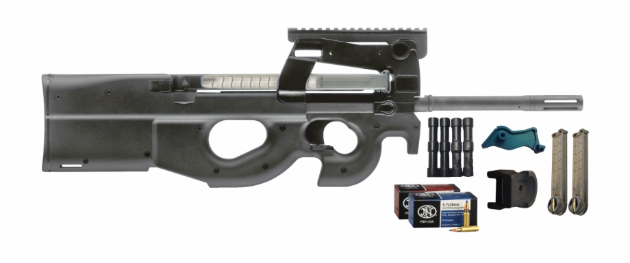 Ps rifle standard build. Fn p90 clipart