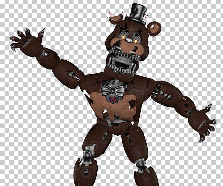 Fnaf 4 clipart jpg black and white download Five Nights At Freddy\'s 4 Nightmare FNaF World Game PNG, Clipart ... jpg black and white download