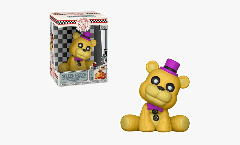 Fnaf golden freddy clipart image free stock Five Nights At Freddy\'s - Funko Pop Fnaf Golden Freddy #392320 ... image free stock