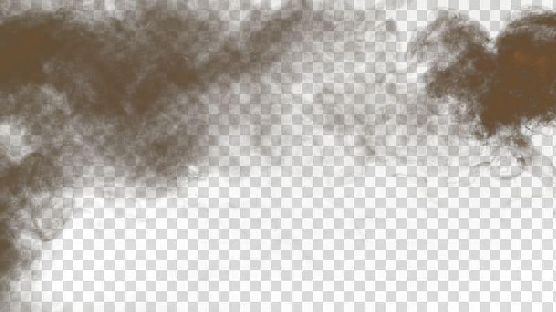 Fog cloud clipart. Brown ash illustration light