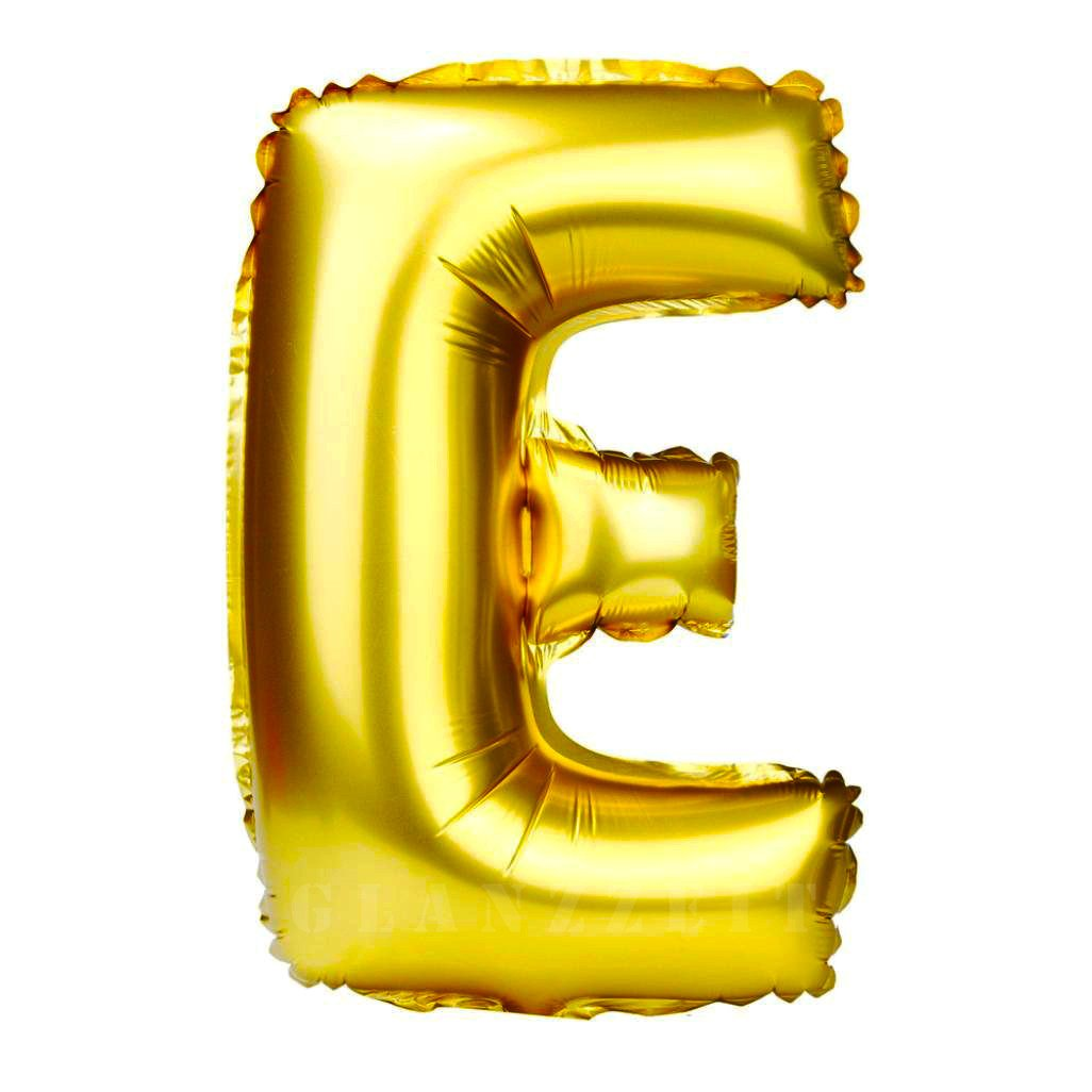 Foil balloon letters clipart picture Glanzzeit 32 Inch Gold Foil Balloons Letters A to Z Numbers 0 to 9 Wedding  Birthday Holiday Party Decoration (Letter E) picture