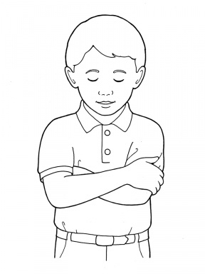 Folded arms clipart png library download Arms Folded In Prayer Clipart - Clip Art Library png library download