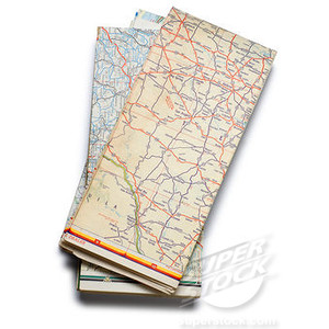 Folded road map clipart jpg royalty free Folded road map clip art - ClipartFest jpg royalty free