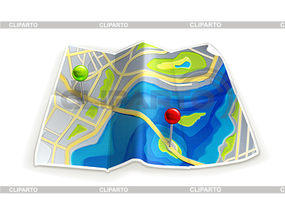 Folded road map clipart clipart free download Road Map Clipart - Clipart Kid clipart free download
