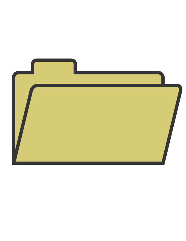 Folder clipart picture free library Free Clipart: File Folder | TheByteMan picture free library