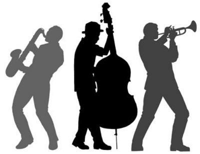 Folk jazz & blues clipart