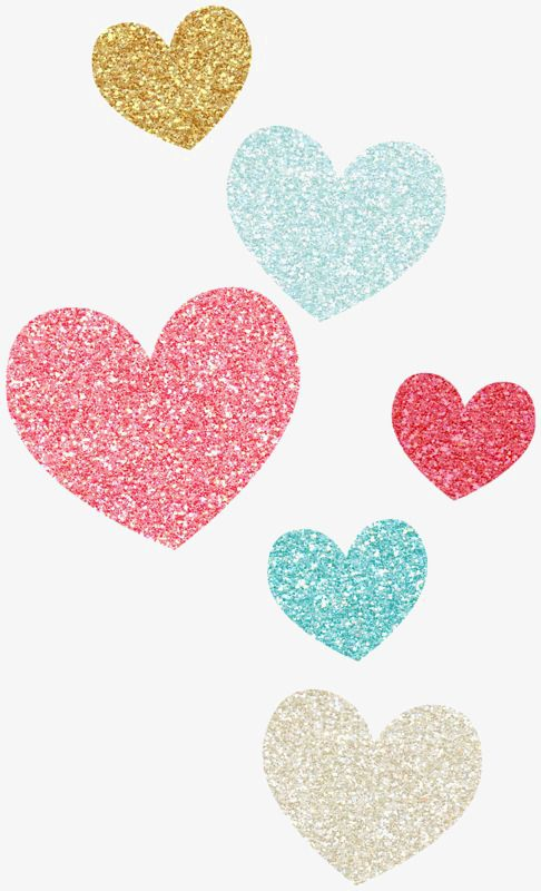 Color of love creative. Fondo de corazones clipart