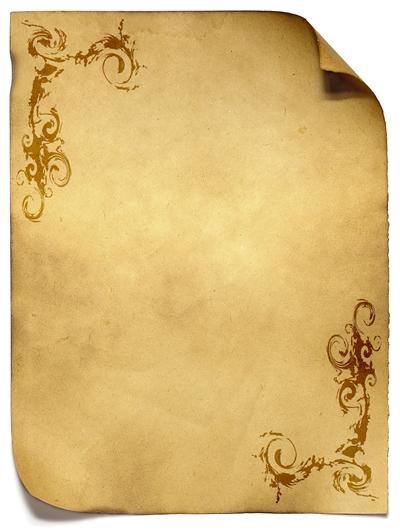 Fondo pergamino clipart clip art black and white library Imagenes De Amor Y Amistad: Pergaminos Para Escribir … | Lugares ... clip art black and white library
