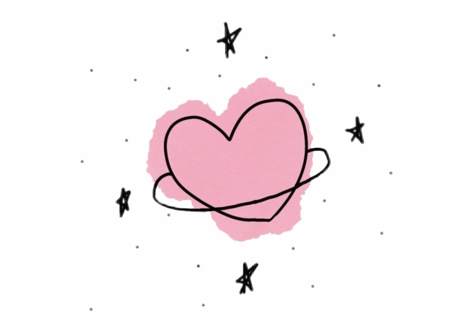 Fondos clipart tumblr. Heart planet space universe