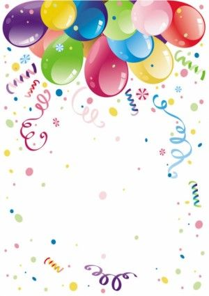 Fondos de cumplea os clipart clipart freeuse download Drodher, Fondo Feliz cumpleaños con globos de colores, Rellena con ... clipart freeuse download