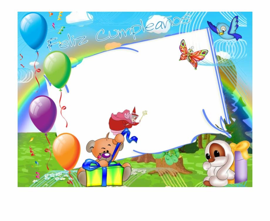 Fondos de cumplea os clipart banner library stock Download Fondos De Cumpleaños Infantiles Clipart Party - Рамки С ... banner library stock