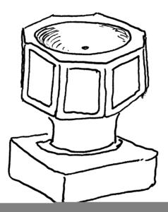 Font online clipart png transparent stock Baptismal Font Clipart | Free Images at Clker.com - vector clip art ... png transparent stock