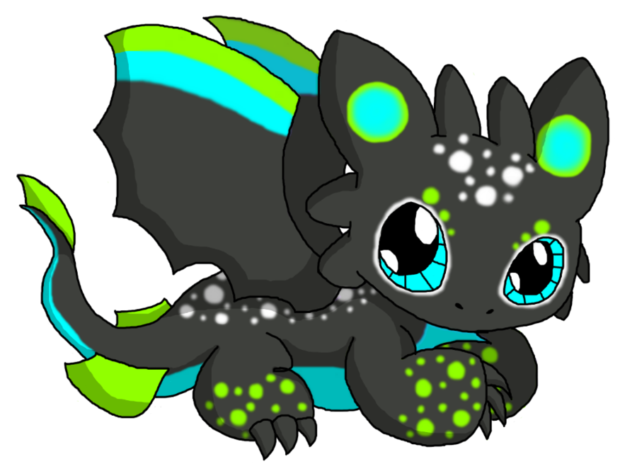 Chibi Dragon: Unnamed by ~Cliathia on deviantART it looks like ... clip art library stock