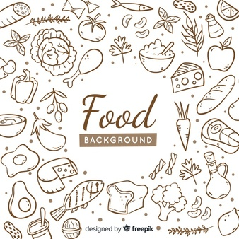 Healthy vectors photos and. Food background clipart