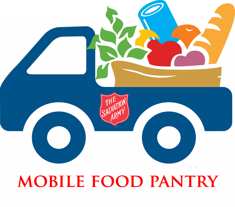 Food bank clip art stock Mobile Food Pantry - The Salvation Army stock