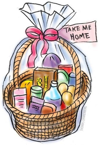Food basket clipart. Free cliparts download clip