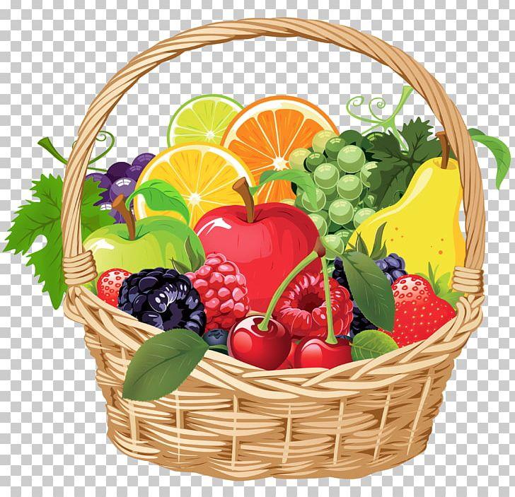 Food basket clipart. Fruit gift png clip