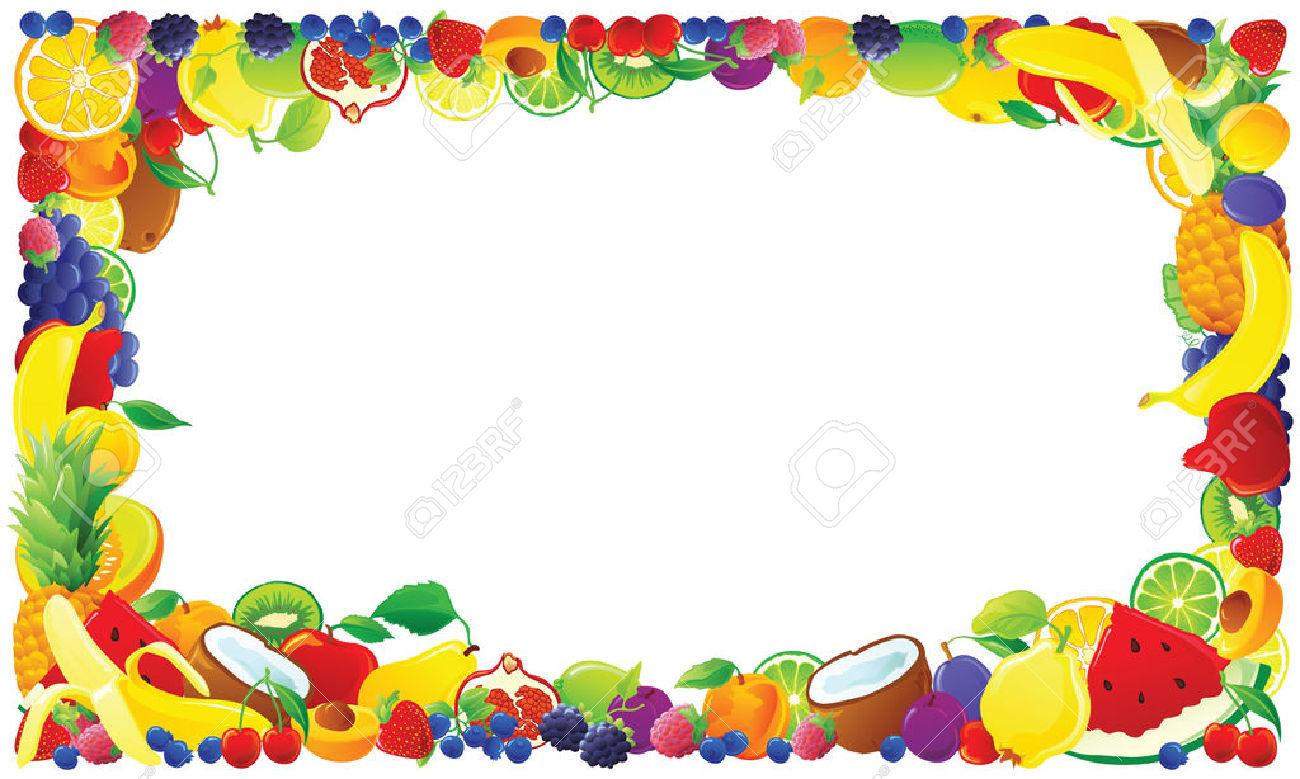 Food borders clipart jpg stock Clipart food border 4 » Clipart Station jpg stock