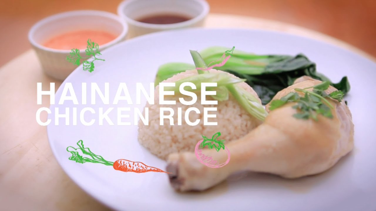 Food channel clipart freeuse stock HAINANESE CHICKEN RICE 海南鸡饭   Home Cooked: Malaysia   Asian Food Channel freeuse stock