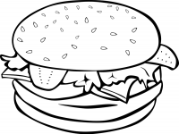 Food clipart blackline clipart royalty free stock Junk Food Clipart Black And White - clipartsgram.com clipart royalty free stock