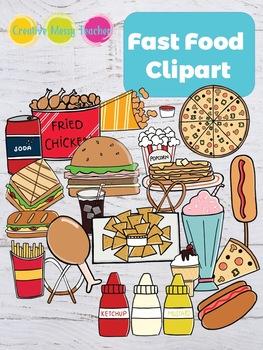 Food clipart for teachers picture transparent stock Fast Food Clipart picture transparent stock
