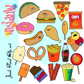 Food clipart for teachers png download Junk Food Clipart png download