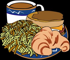 Food clipart transparent png stock Fast Food Menu Samples Breakfast Clip Art at Clker.com - vector ... stock