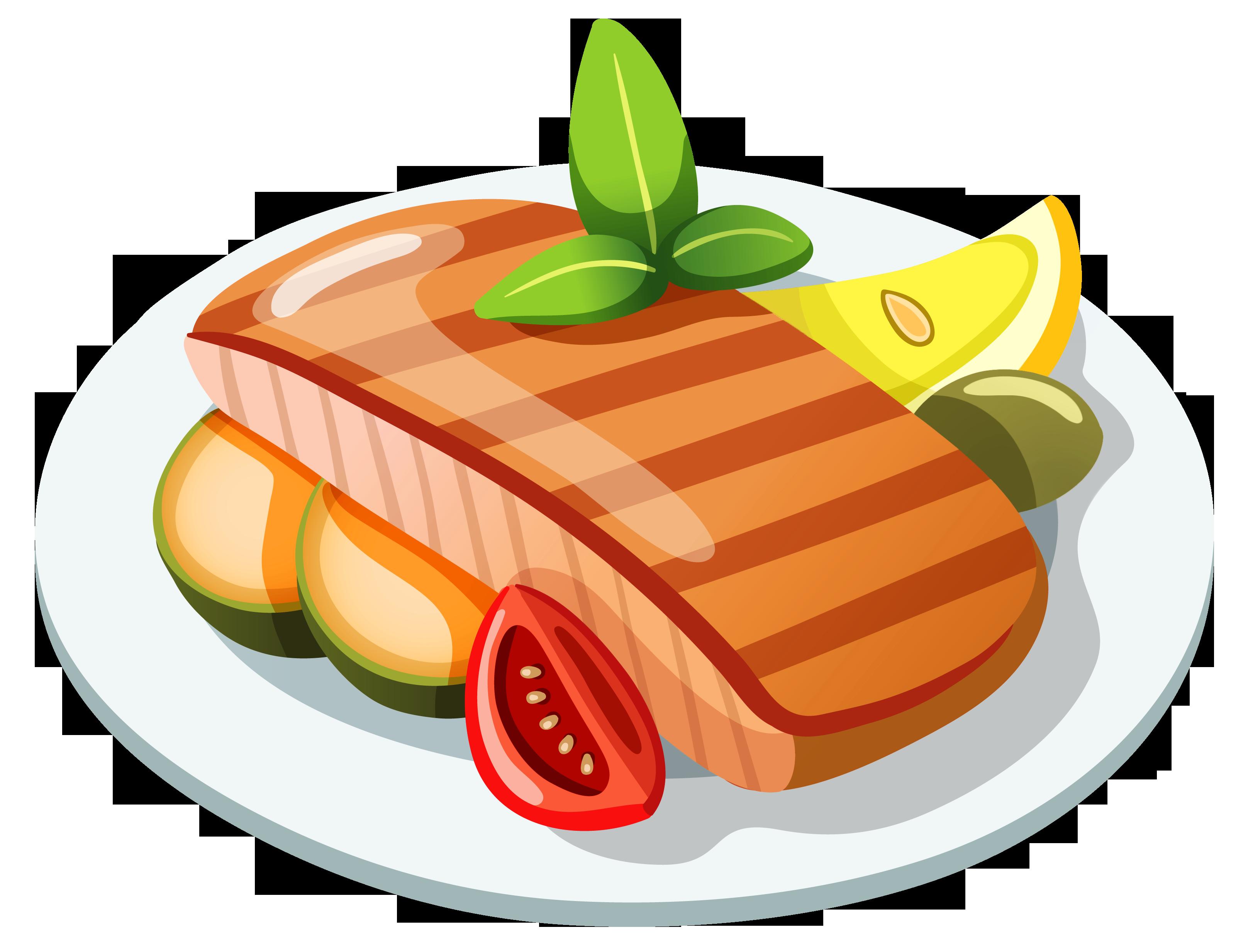 Food clipart transparent png clipart transparent stock Free Steak Clipart Pictures - Clipartix clipart transparent stock