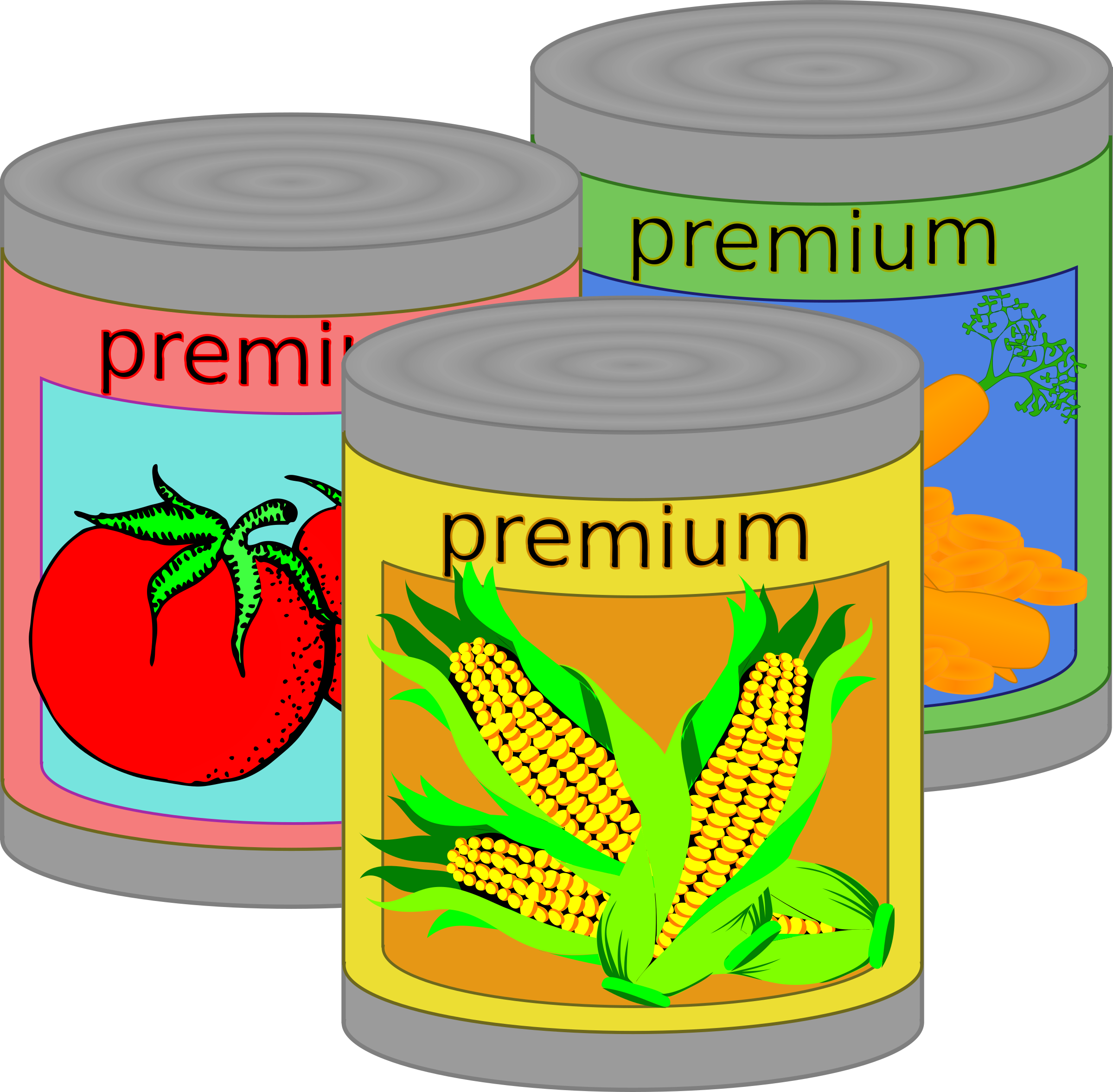Food clipart transparent png picture royalty free stock Canned food clipart png - ClipartFox picture royalty free stock