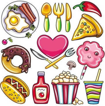 Food clipart vector png royalty free Food free vector download (5,941 Free vector) for commercial use ... png royalty free