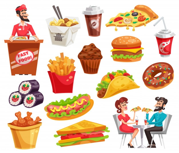 Food clipart vector banner library library Food Vectors, Photos and PSD files | Free Download banner library library