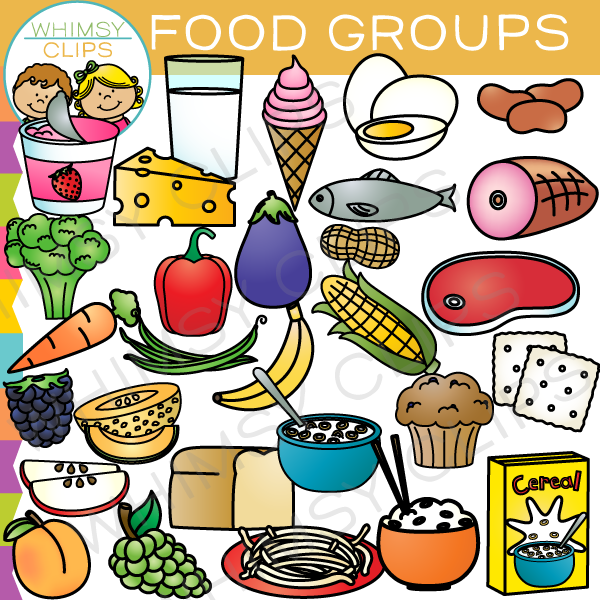 Food for all clipart clip black and white library All Food Groups Clip Art – Clipart Free Download clip black and white library