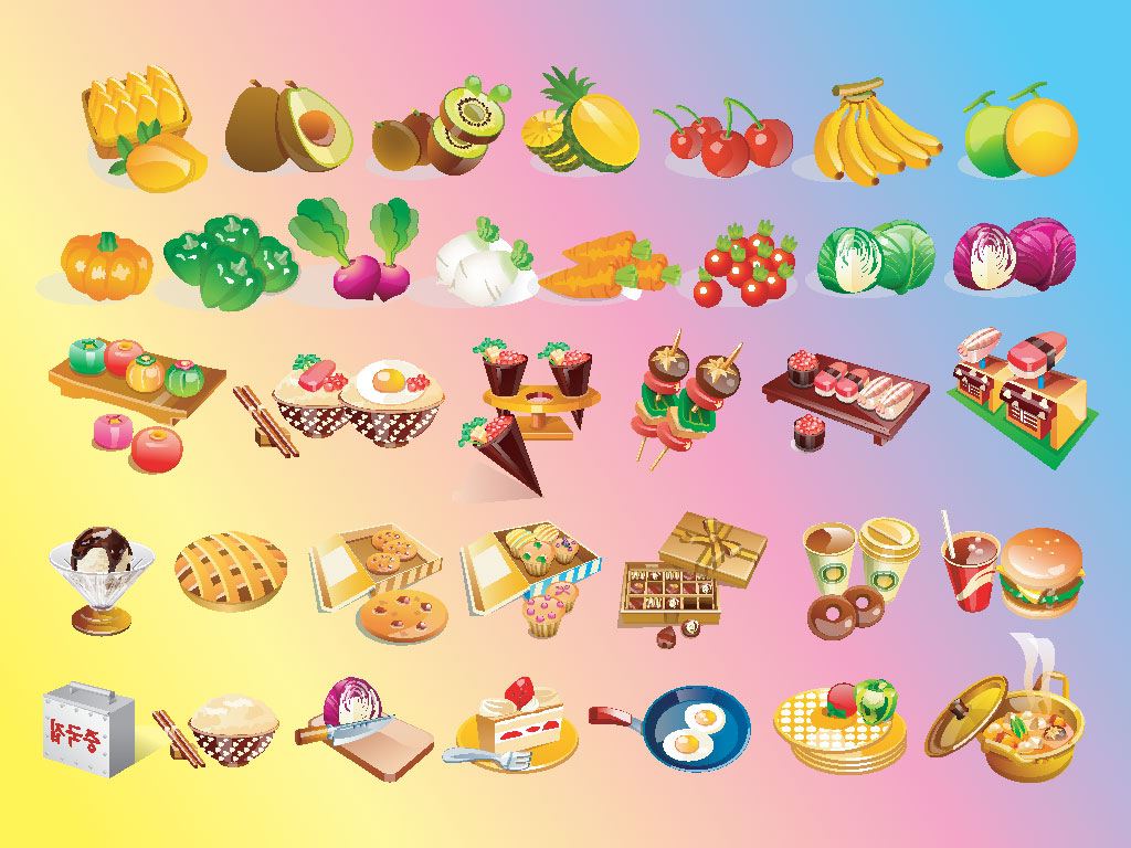 Food for all clipart clipart stock Vector clip art food - ClipartFest clipart stock