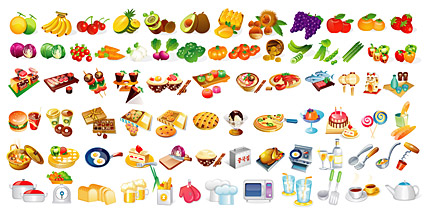 Food for all clipart graphic royalty free The various types of food elements in, Clip Art - Clipart.me graphic royalty free