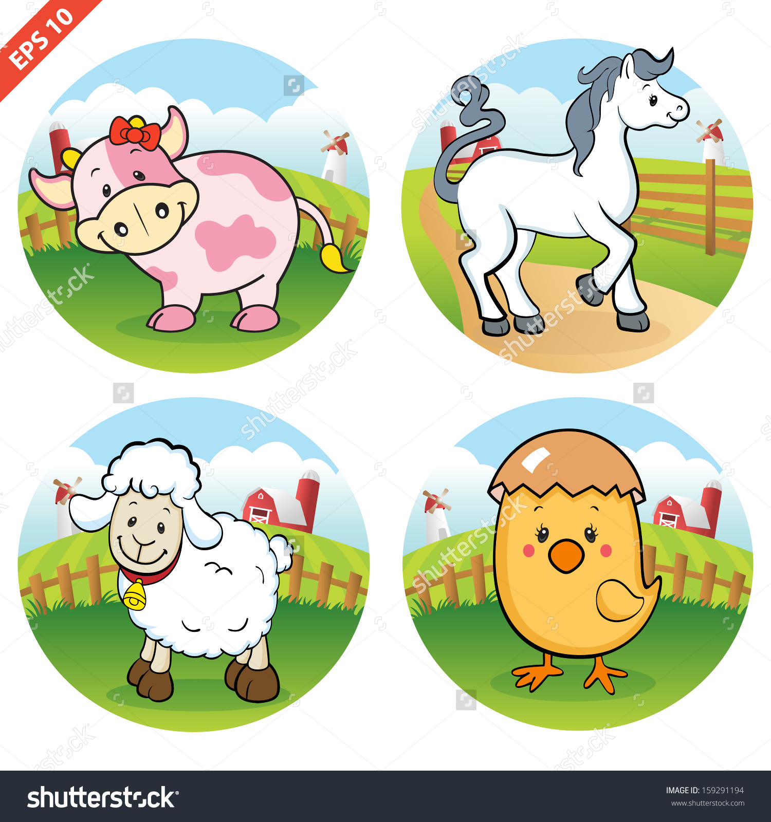Food for animals clipart freeuse Farm clipart animals and food - ClipartFox freeuse