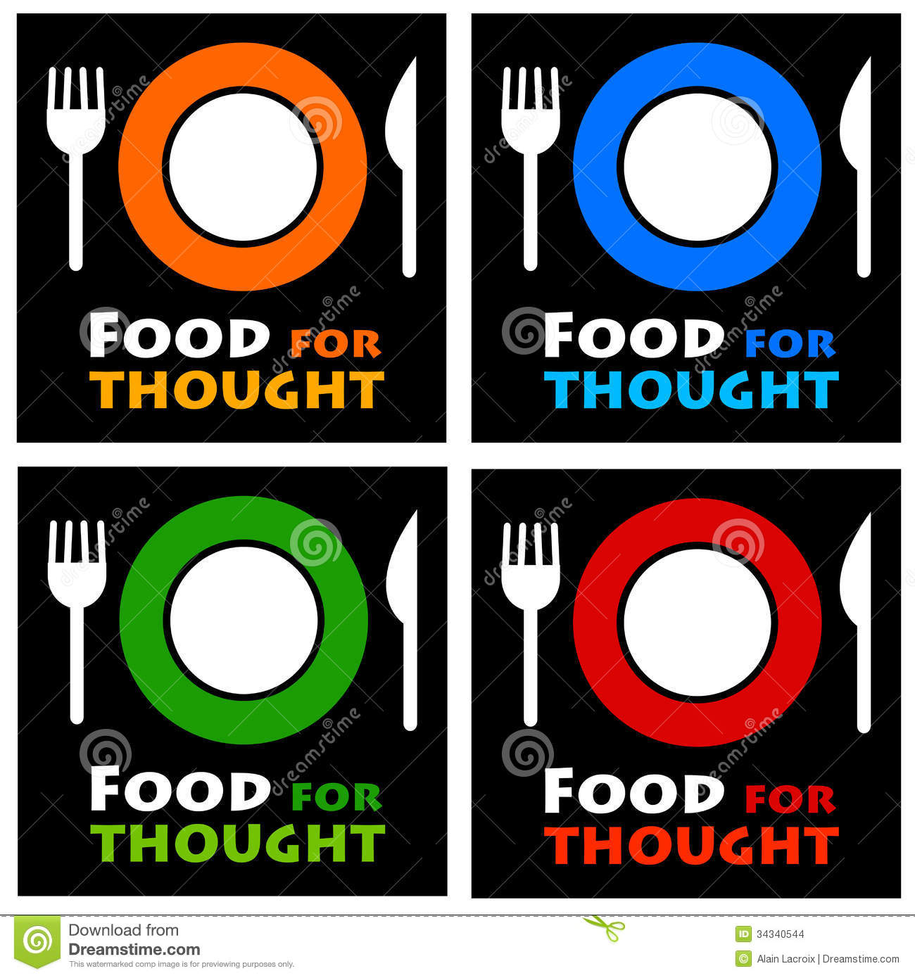 Food for thought clipart download Food For Thought Stock Images - Image: 34340544 download
