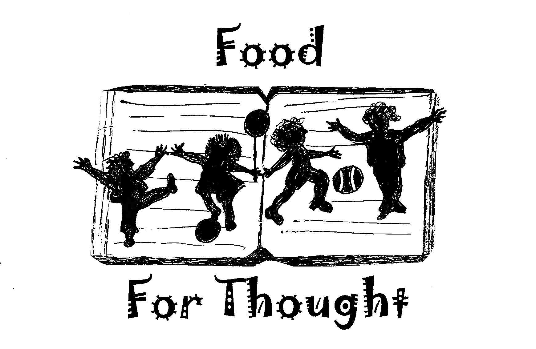Food for thought clipart vector black and white library After school program clipart black and white - ClipartFest vector black and white library