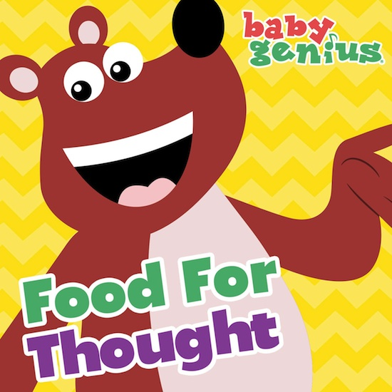 Food for thought clipart svg stock Baby Genius Food For Thought (Digital Download) – Baby Genius® svg stock